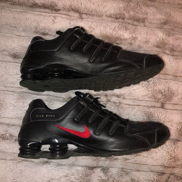 Nike Shoes   Nike Shox Nz Black Red